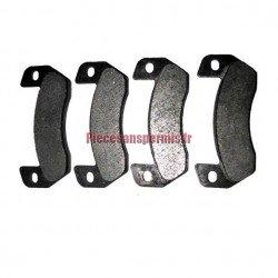 4 plaquettes de frein arriere ligier - 182043