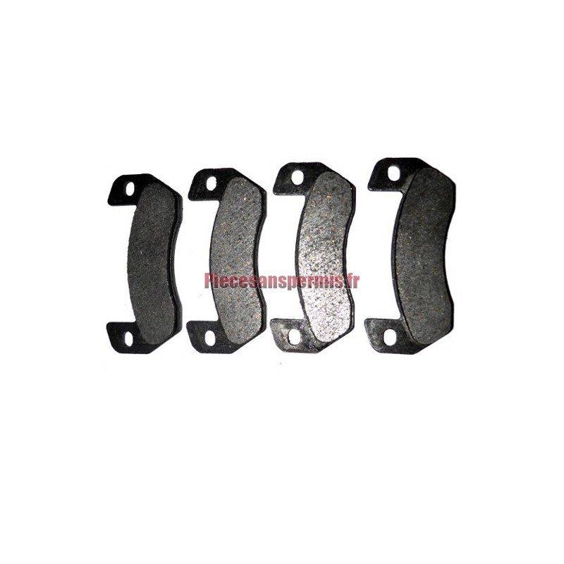2 pi/èces plaquettes de frein compatibles avec 250cc ATV chine Jinling 250cc JLA-21B JLA-923 CEE aller Kart Buggy UTV