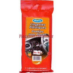 Lingettes plastiques