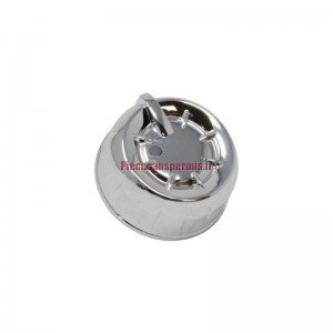 Bouton de ventilation latéral chromé Aixam