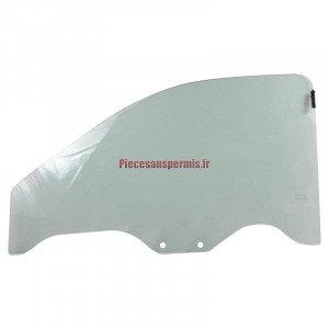 Vitre portière droite Ligier JS60 et Microcar MGO 3, 4/5 et 6